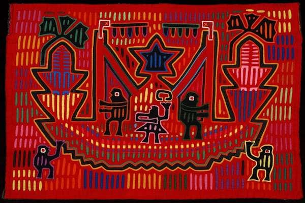Mola created by the Guna people of Panama