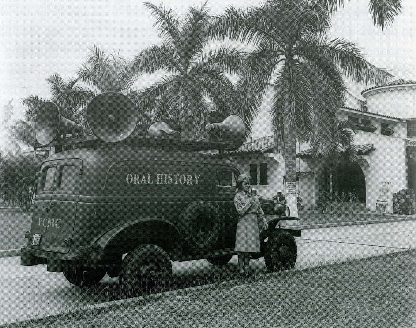 Oral History truck