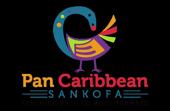 Pan Caribbean Sankofa logo
